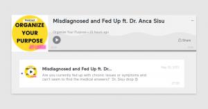Misdiagnosed and fed up - alternative medicine options